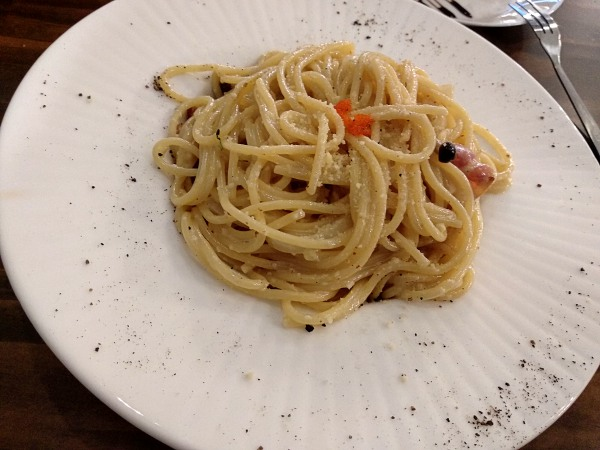 Bacon Mushroon Carbonara at Light and Salt Cafe Taman Goodwood | Kuala Lumpur Best Restaurant Review 2018