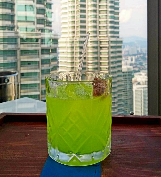 SheHulk cocktail: Marvel-ous Cocktails at Marini's on 57