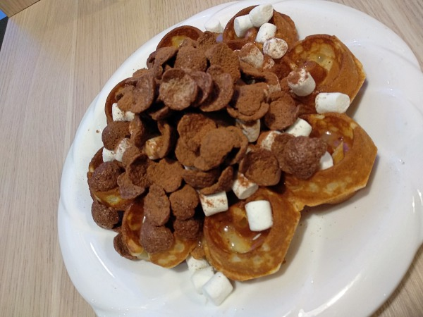 Milo dinosaur waffle at New Chapter by the Owls Cafe, Bukit Jalil | Kuala Lumpur Best Cafes Review 2018