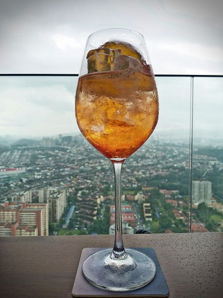 Round off your weekend with Sunday Sessions at the Pacific Standard Bar with a AperolSpritz