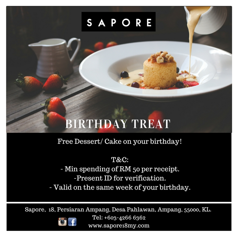 Sapore - Discover The Best Dining In KL