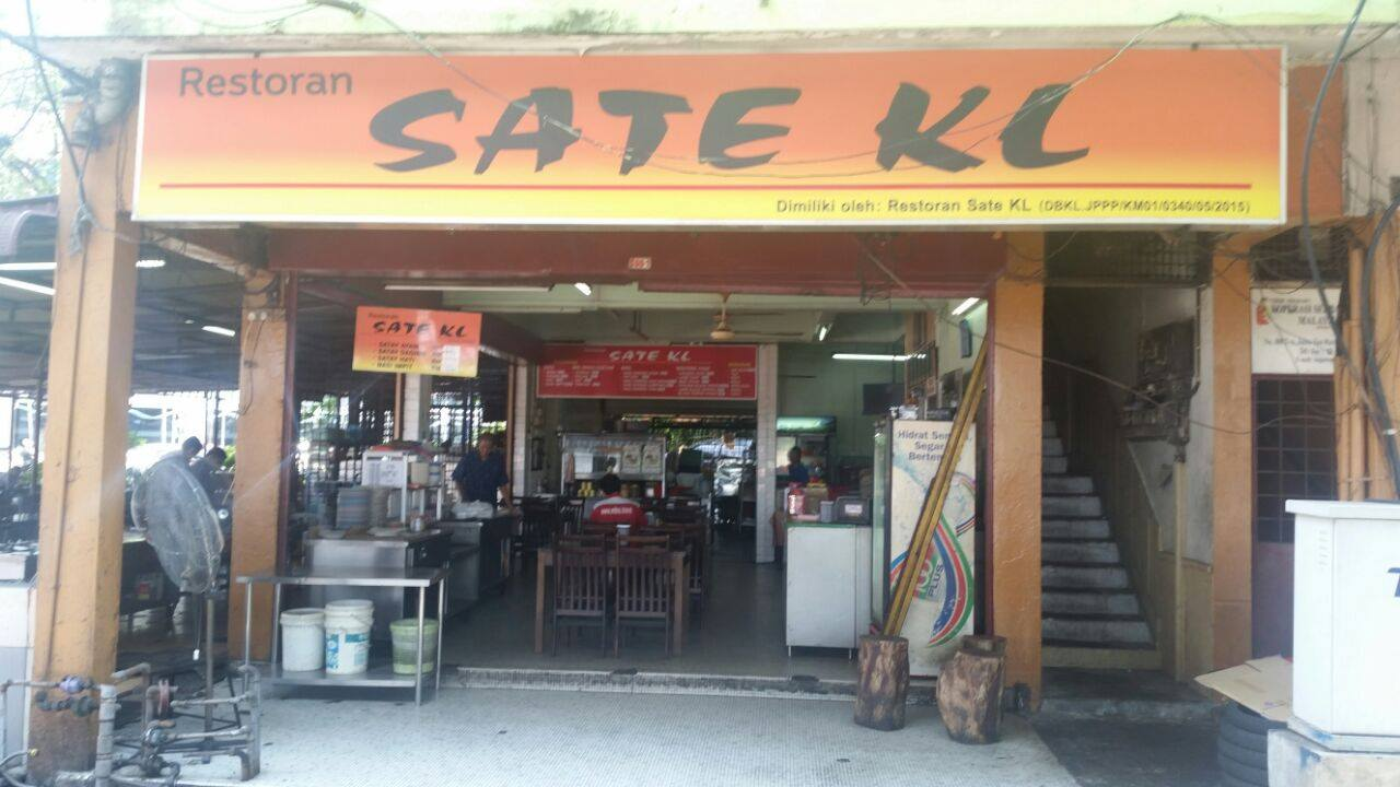 Sate Kuala Lumpur Malaysia