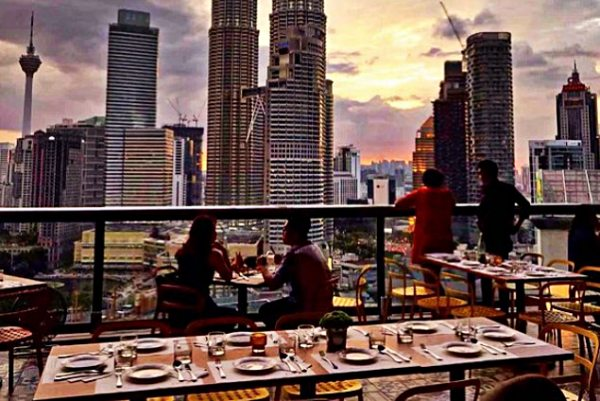 14 Valentine ideas for a romantic night in Kuala Lumpur 2020 - Strato at Troika Sky Dining