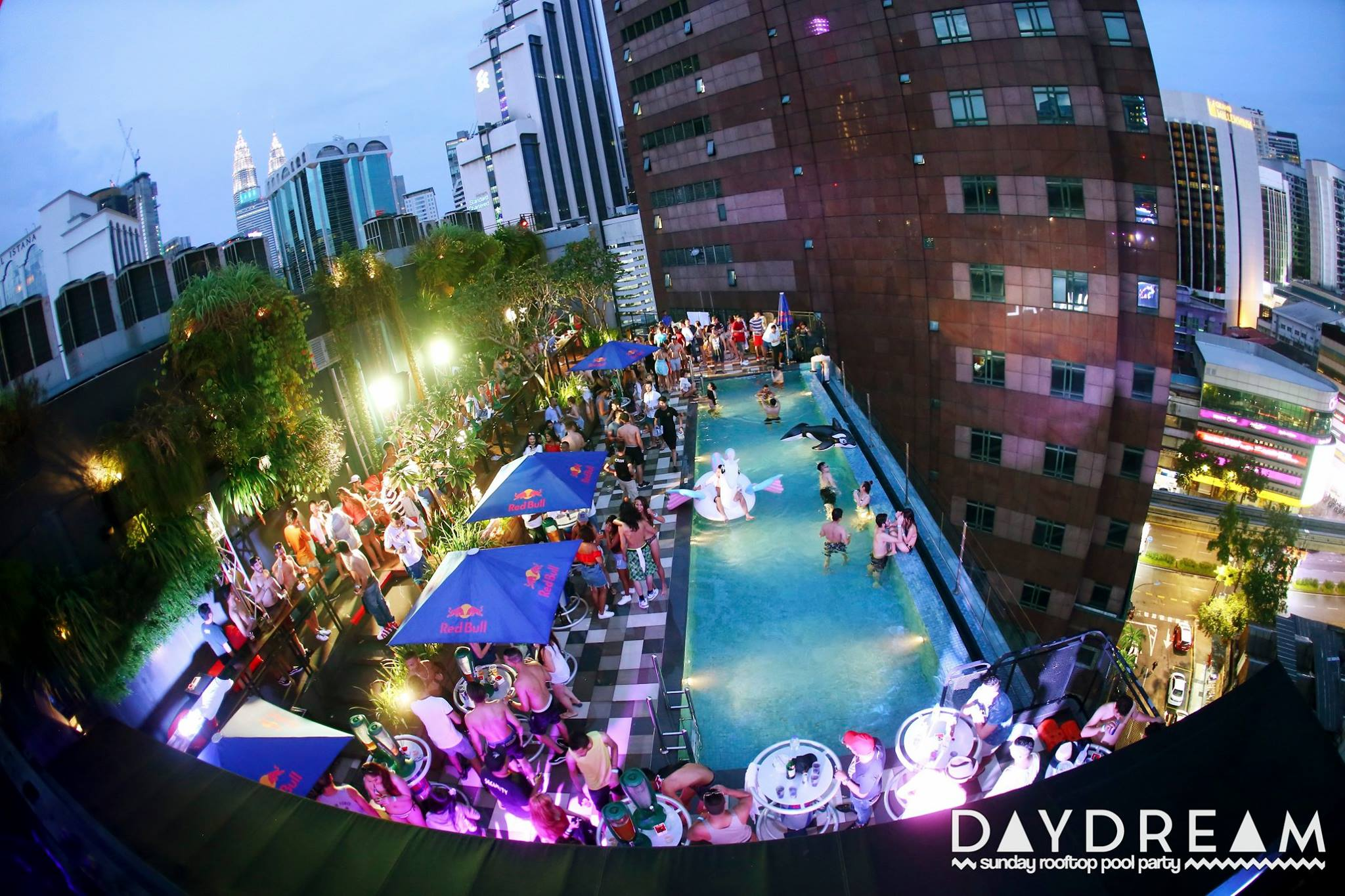 Day Dream Pool Party at The KL Journal