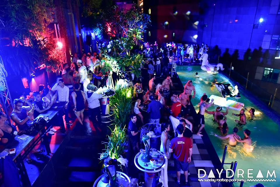 DayDream pool party at The KL Journal hotel Kuala Lumpur