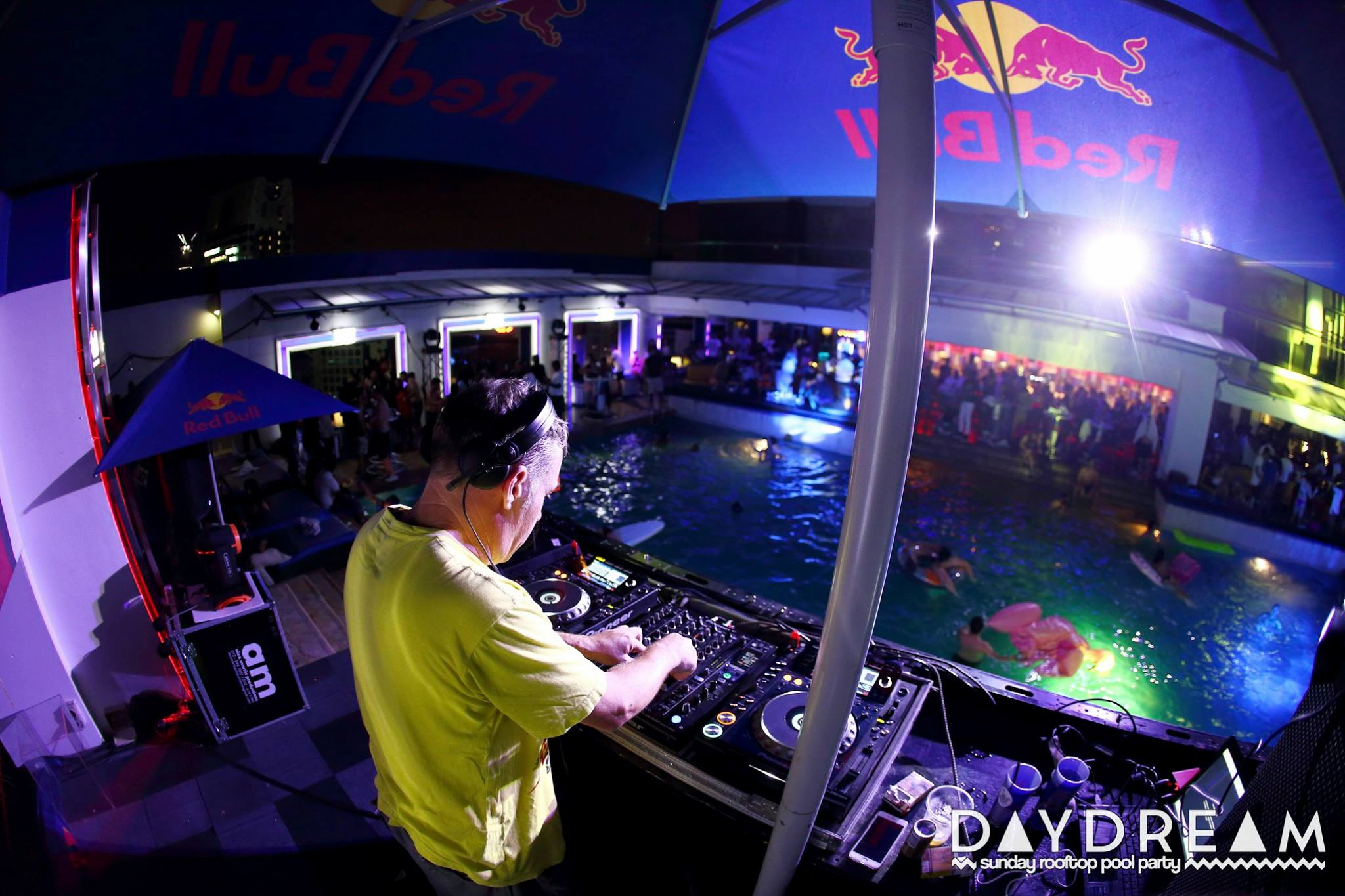 Day Dream Pool Party KL Kuala Lumpur at Luna bar