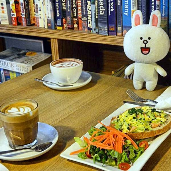 5 of the Best Book Cafes in KL for Some Quiet Reading - Departure Lounge Cafe