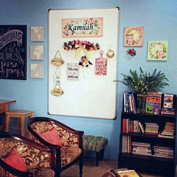 5 of the Best Book Cafes in KL for Some Quiet Reading - Kamilah's Lifestyle & Book Café