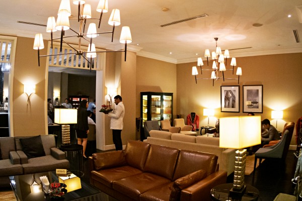 Discover Colonial Heritage with a Cocktail at The Smoke House, Majestic Hotel KL - Sitting area lounge
