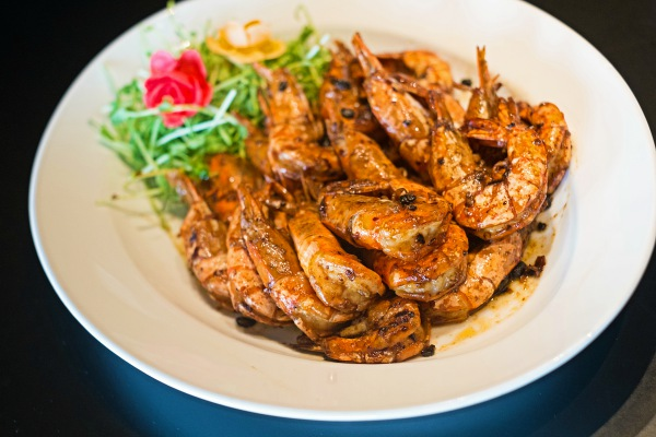 Wok fried prawns at Celebrate Chinese New Year in Kuala Lumpur With Hotel Maya's Set Menu