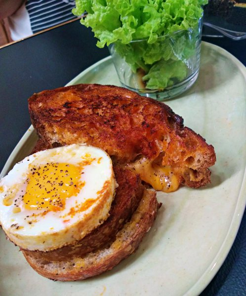 Jao Tim, Petaling Street, Coffee Shop Review - Grilled cheese sandwich