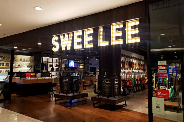 Swee Lee Social Club at Lot 10 Is Music To Palate and Ears - Entrance