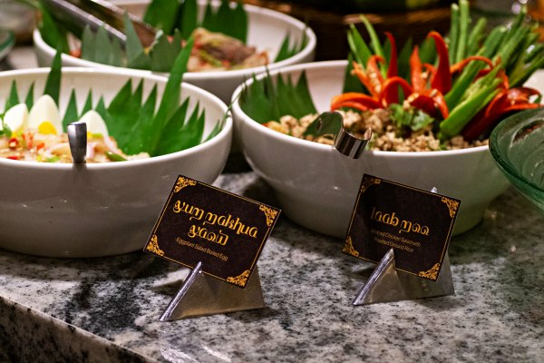 A Tan-Thai-lising Thai Buffet at Feast, Sheraton Petaling Jaya - Thai Salads