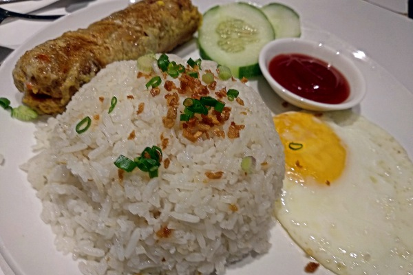 The Narra, Petaling Jaya, Filipino Resto Lounge Review - Embosilog, garlic rice ,egg