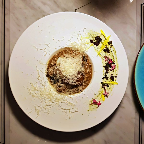 Glamorous Vogue Lounge Takes Fashion Dining to New Heights in KL - truffle risotto