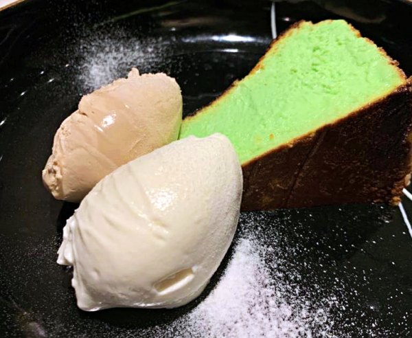 Wizards at Tribeca Take Your Taste Buds on a Magical Journey in 2020 - Pandan Burnt Cheesecake