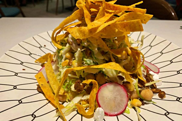 Wizards at Tribeca Take Your Taste Buds on a Magical Journey in 2020 - chickpea slaw